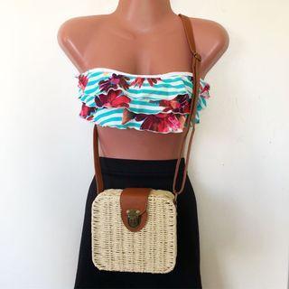 Light Brown Beach Bag