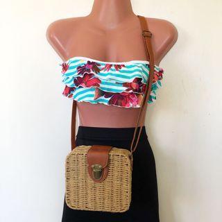 Brown Beach Bag