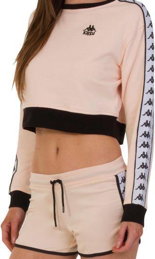 Kappa cropped long sleeves top.