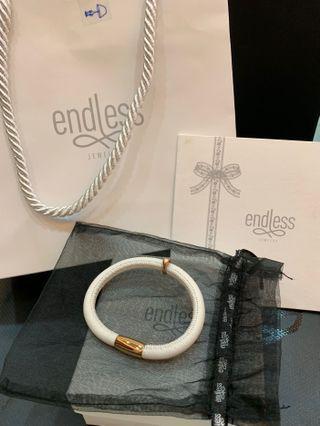 endless 手環(正品)白色