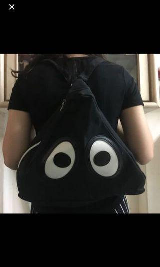🚚 可愛大眼後背包