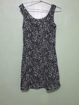 Mididress/dress motif/baju pantai