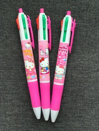 Multi colour Hello Kitty Pens