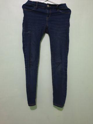 Jeans birung donker