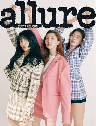 TWICE MAY ISSUE ALLURE MAGAZINE