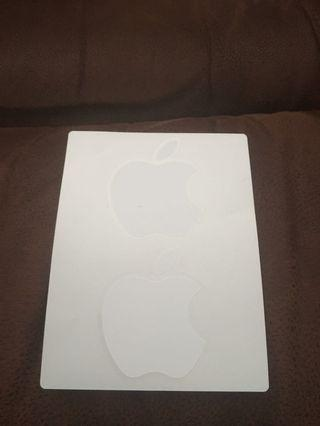Sticker Original Apple Bawaan iPad