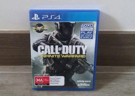 Call of Duty Infinite Warfare-PS4 遊戲 Sony PlayStation Game