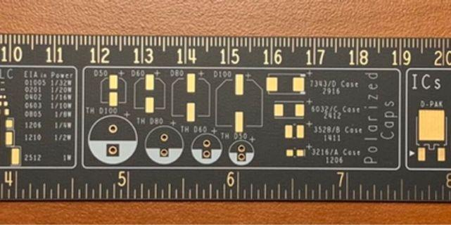 """NVidia Geek 12"""" foot-long Ruler"""