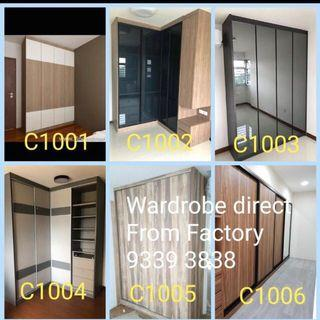 Customised Wardrobe, Carpentry Direct from factory, enquire now !!
