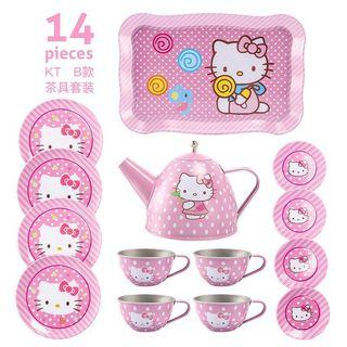 Hello Kitty Girl Tea Party Cooking Toy Play Set