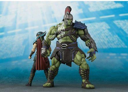 "Bandai Tamashii Nations S.H. Figuarts Hulk ""Thor: Ragnarok"" Action Figure"