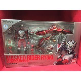 SHF SHFiguarts Kamen Rider Ryuki & Dragreder Set
