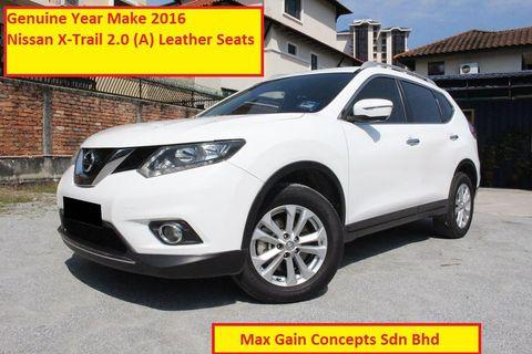 2016 NISSAN XTRAIL 2.0 LEATHER SEAT