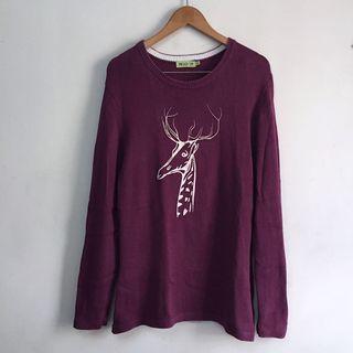 deer jumper/sweater dress