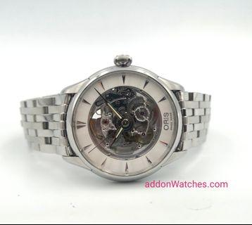 Oris Artelier Skeleton Automatic Watch