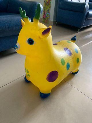 Deer toy ride