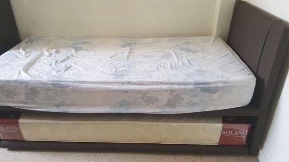 Single Mattress n bed frame