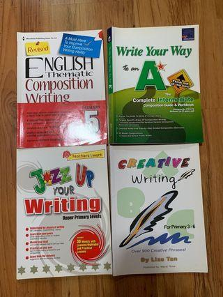 Upper Primary Composition Guide Books