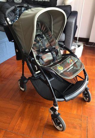 Bugaboo Bee3 Khaki with Diesel liner