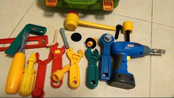 Little Tikes 兒童工具箱