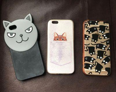 iPhone 6 Case Cat only 40.000 for 3 items