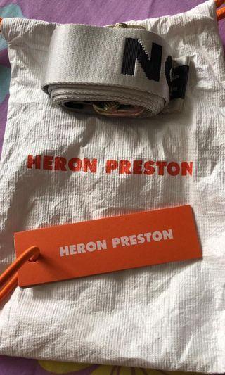🚚 Authentic Heron Preston Belt