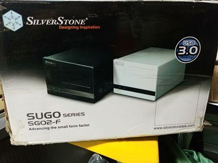 Sliver Stone SG02 SFF 機箱 黑色