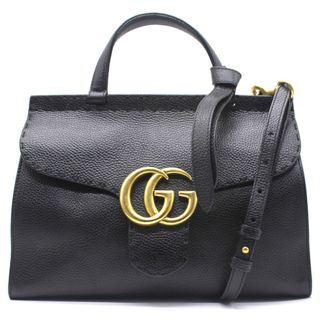 260cc86cb GUCCI GG Marmont Small Top Handle Bag