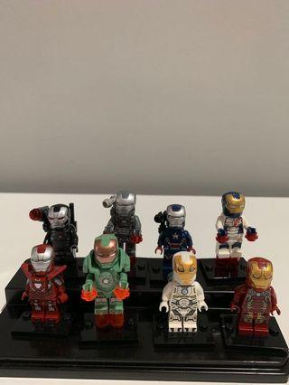 Lego iron man collection