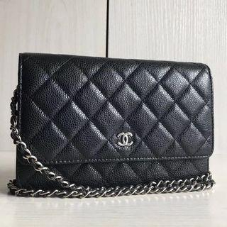 Chanel Classic Wallet On Chain