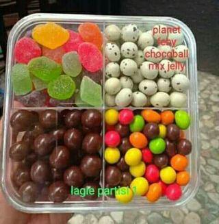 Paket coklat sekat 4