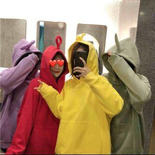🚚 [po] teletubbies hoodie pair
