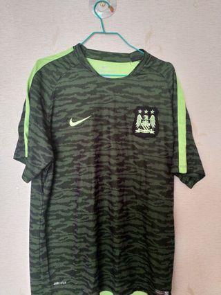 Nike Manchester City Training Jersey (Green)