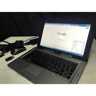 富士通 Fujitsu  Q702 Pro 11.6吋螢幕 可分離式平板電腦 i5 CPU 4GB RAM 256 SSD Win 7 Pro