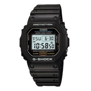 [✅FREE postage]: ✅💯Authentic Casio Classic G-Shock WATCH DW5600E-1V - Black Resin Strap #EndgameYourExcess
