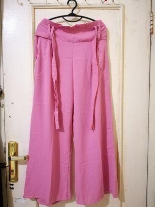 Pink Kulot #mudikhemat