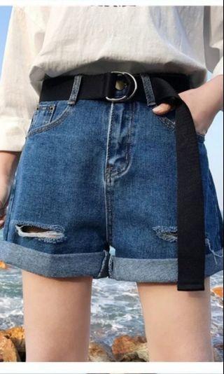 🚚 韓版闊腿短褲