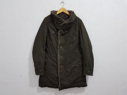 Johnbull long parka, fishtail parka