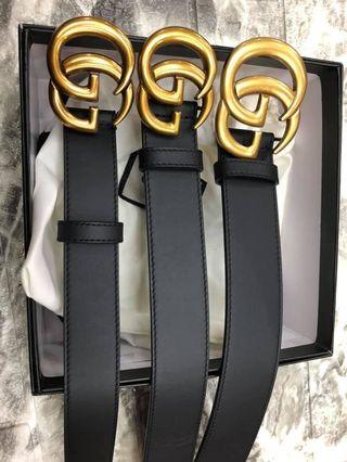 406fb7d65b1 GG belt unisex size 90-110 cm Authentic Grade Quality