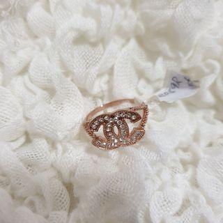 Diamond Ring double C