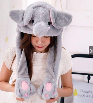 Elephant Moving Ear Hat