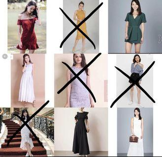 Do check my listing for more clothes!
