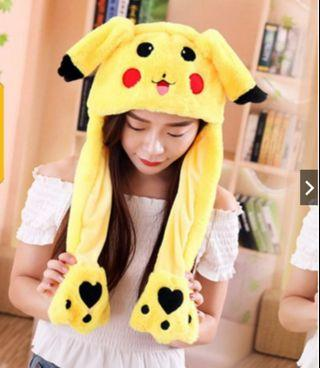 🚚 Pikachu moving ear hat