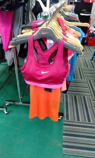 Sport bra and sweater