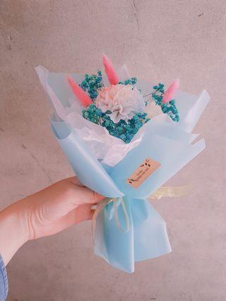 🚚 康乃馨 母親節禮物 花束 乾燥花 擴香花
