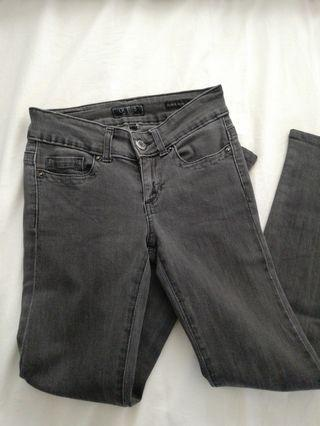 Guess ultra skinny grey jeans