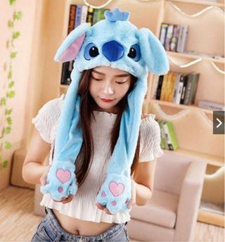 🚚 Stitch Moving Ear Hat