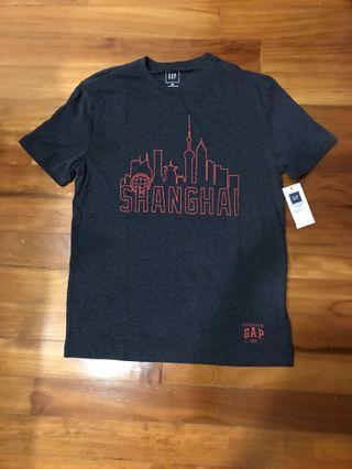 Gap Shanghai Skyline Tshirt