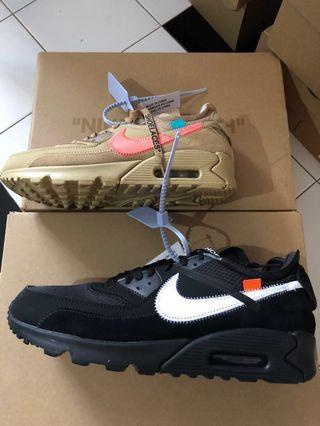 Nike x Off White Air Max 90 (Multiple Sizes)