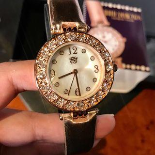 ELIZABETH TAYLOR WHITE DIAMONDS WATCH BRAND NEW NEVER USED AUTHENTIC COMES COMPLETE - negotiable